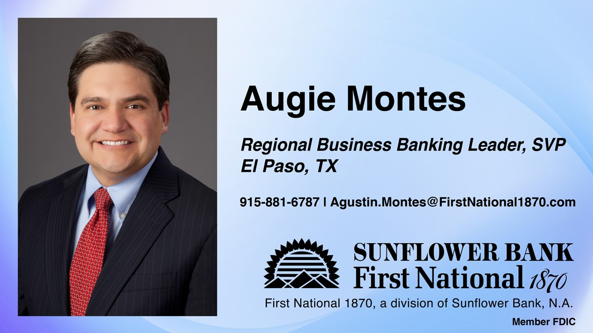 image for Augie Montes Named Business Banking Regional Leader