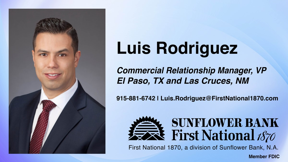 image for New Commercial Relationship Manager for El Paso and Las Cruces