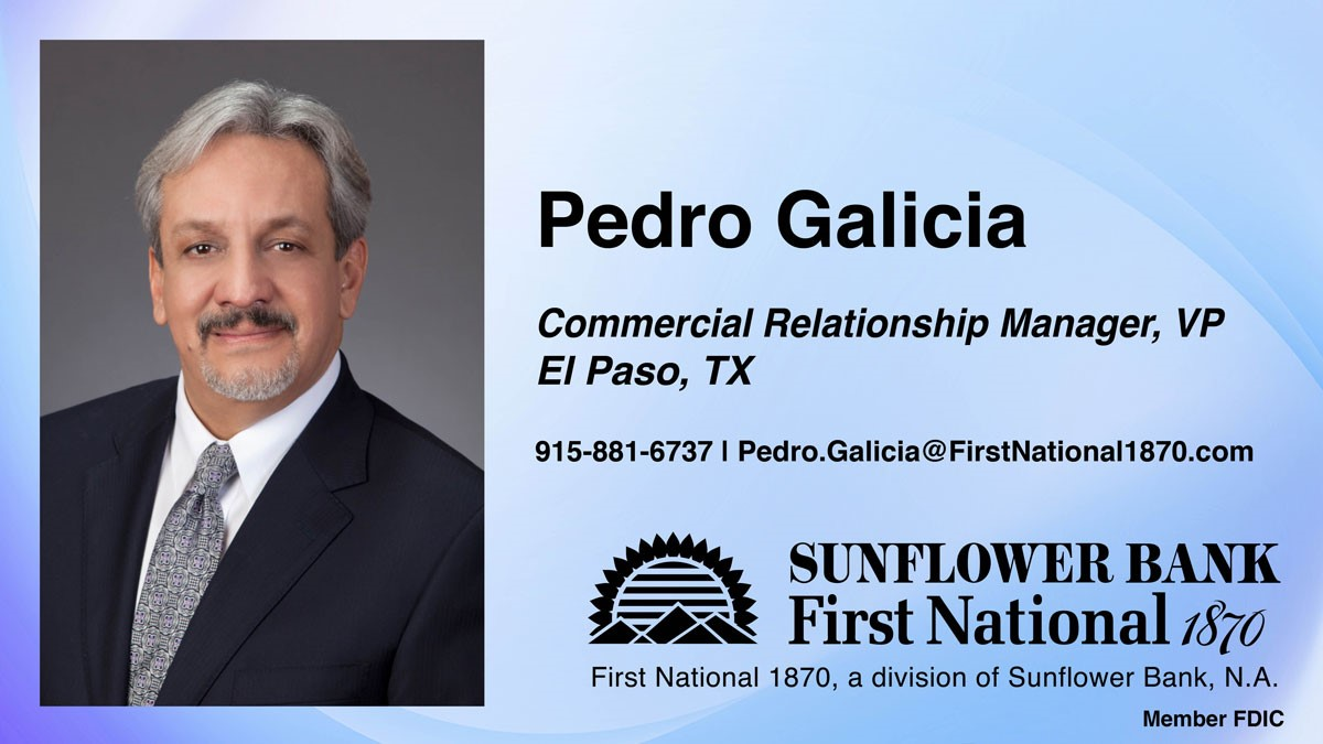 image for Pedro Galicia Joins First National 1870 in El Paso